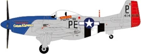 JC Wings US Army Air Force P-51D Mustang 328th Squadron 1:72 Scale Part #JCW-72-P51-001 (P-51d Mustang Wing)