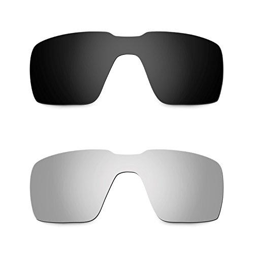 80c4bef52b5 Envio gratis Hkuco Mens Replacement Lenses For Oakley Probation  Black Titanium Sunglasses