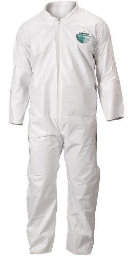 Lakeland MicroMax Microporous General Purpose Coverall, Open Cuff, 2X-Large, White (Case of 25)