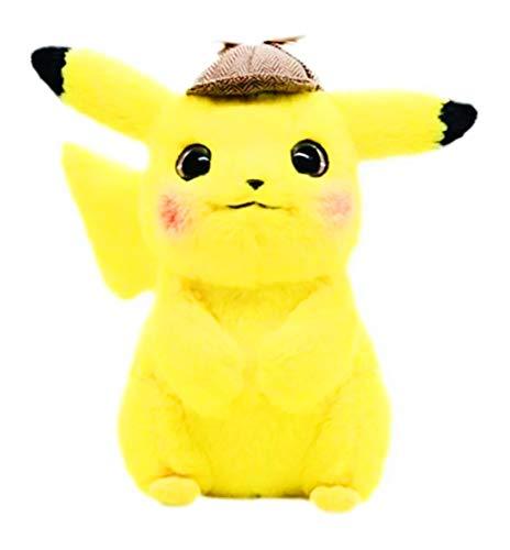 Sweet moment Detective Pikachu Stuffed Animal Plush Toy Soft Cute