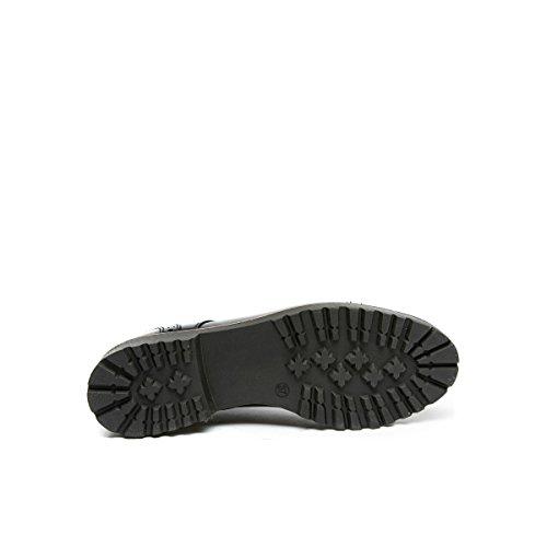 Frank Derby Ville de Noir Lacets à Noir Pour Femme Chaussures Daniel 6w6q5aR