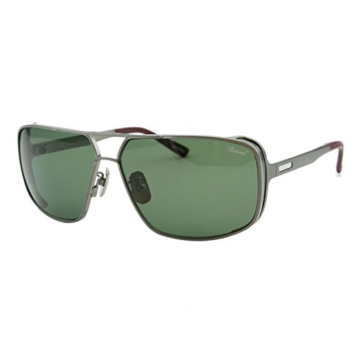 Chopard Mille Miglia SCH-A80 Men Titanium Racing Square Polarized - Sunglasses For Chopard Men