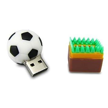 Homes - Memoria USB 2.0 de 4 GB, diseño de balón de fútbol ...