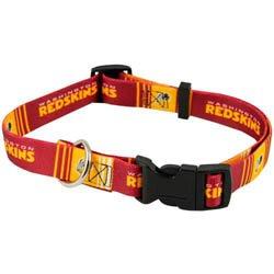 Washington Redskins Adjustable Pet Dog/Cat Collar (X-Small), My Pet Supplies