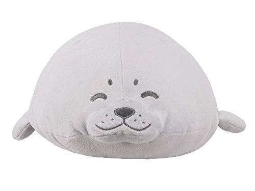 LivHeart Premium Nemu Nemu Super Soft Body Pillow Hug Pillow Earless Seal (L)