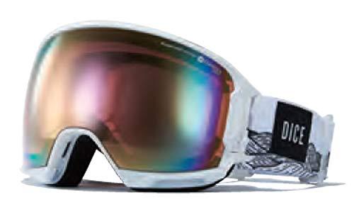 19-20 DICE ゴーグル ダイス HIGH ROLLER ハイローラー HR91361 [Polarized ピンク / Pastel ピンク Mirror] 偏光レンズ スノーボード W(001)