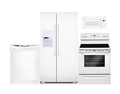 Frigidaire 4-Piece White Kitchen Package with FFHS2622MW 36