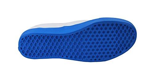 a18706d73653 Vans Unisex Shoes Authentic Lite (Pop Sole) White Blue Fashion Skate  Sneakers