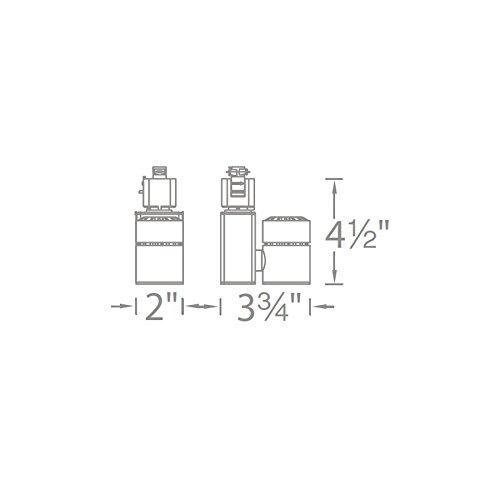 Brushed Nickel WAC Lighting H-1014N-927-BN Exterminator II LED Energy Star Track Fixture