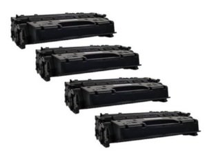 4-Pack Compatible Canon 120 Black Toner Cartridges for use with Canon imageCLASS D1120 D1150 D1170 D1180 Printer, Office Central