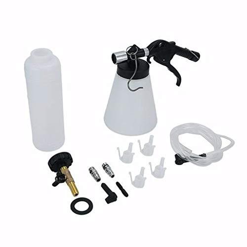 Junshion Pneumatic Car Brake Fluid Bleeder Bleeding Replacement Tools Kit Brake Oil Replacement Kit Cleaning Supplies,1L