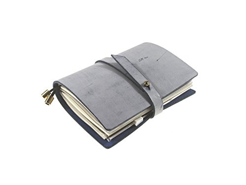 UNIQUE HM&LN Genuine Leather Planner Organizer - Academic Monthly & Daily - Refillable & Handmade - Gratitude Journal - Passion & Happiness 2018