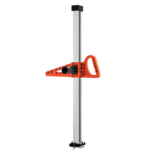 Board Drywall - KKmoon Manual High Accuracy Portable Gypsum Board Cutter Hand Push Drywall Cutting Artifact Tool with Double Blade and 4 Bearings 20-600mm Cutting Range
