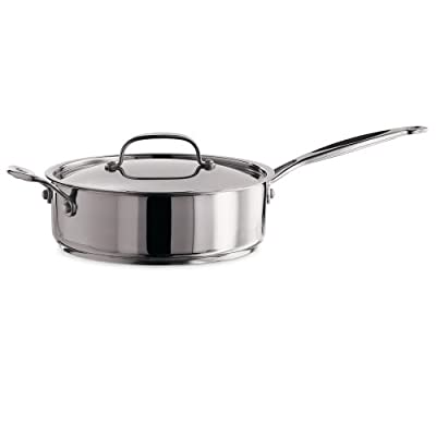 Cuisinart Chef's Classic Stainless 5.5Qt Saute Pan