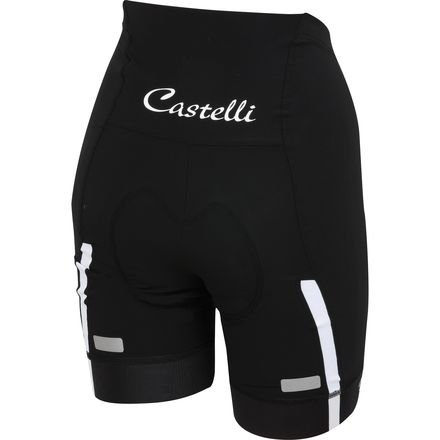 Castelli Velocissima Short - Women's Black/White, XS by Castelli (Image #2)
