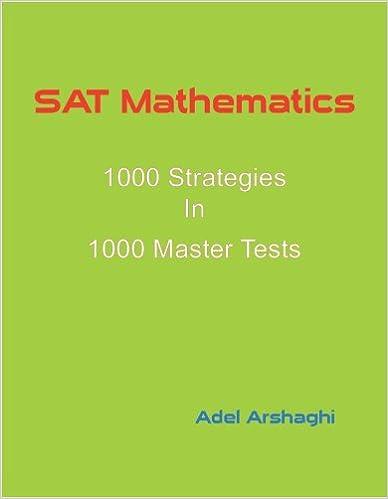Gratis nedlastinger bøker pdf SAT Mathematics: 1000 Strategies In 1000 Master Tests in Norwegian ePub by Adel Arshaghi