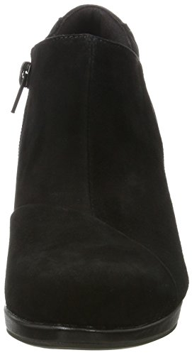 Clarks Dames Koor Jingle Laarzen, Zwarte Zwarte (black Sde)
