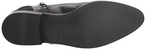 REACTION with Buckle Bootie Flat Women's 2 Kenneth Boot Nite Black Date Detail Ankle Cole 5wzxSxq16
