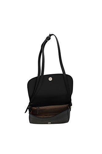 Minibag Cm Schwarz Schwarz Pelle Adele A Tracolla Borsa Lancaster 23 5BFp0p