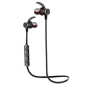 SiKER Auriculares inalámbricos magnéticos Bluetooth Deporte Auriculares In-Ear a Prueba de Sudor 4 Horas Batería para Gimnasio Fitness: Amazon.es: ...