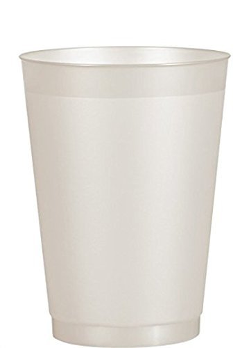 25-Pack Berry Plastics 16-ounce Translucent Frosty Clear Disposable Hard Plastic ()