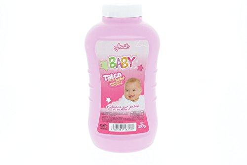 Odolex Pink Baby Powder 300g - Talco de Bebe Rosa (Pack of 40) by Odolex