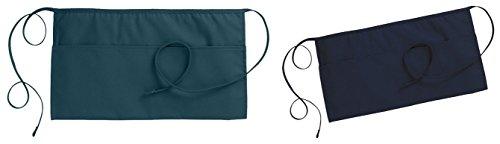 Ed Garments Fashion Three Pocket Waist Aprons Set_HUNTER & NAVY_One Size by Edwards Garment