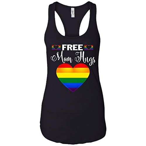 Funn Quotes for Life Free Mom Hugs LGBT Shirt - Tank Top
