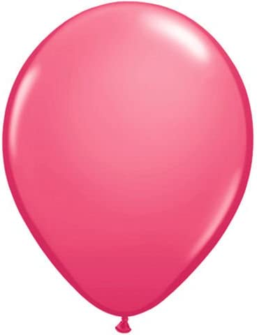 Red Qualatex 9 Inch Latex Balloons x 100