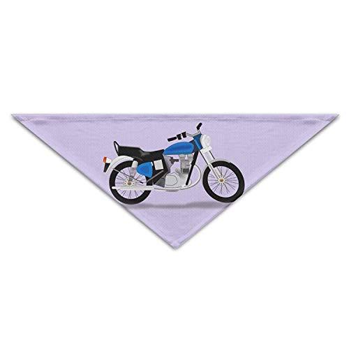 Ciuaole Royal-Motorcycle Pet Scarf Dog Bandana Pet Collars Triangle Neckerchief Puppy Triangle Triangle Bibs Scarfs for Pet ()