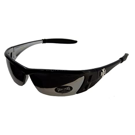 Buy (6 Pack) CHOPPERS Sunglasses Sports CP8CP6554 - Black-Mirror ... 9f29c37a76