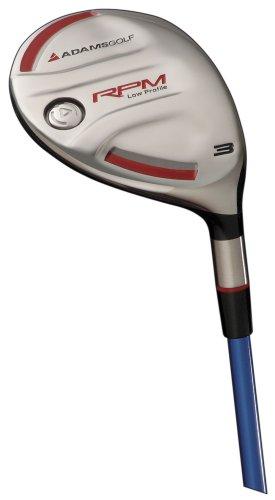 Adams Golf RPM Low Profile Fairway Wood (Men's LH, 15 degree, Standard, Green NV Regular Flex), Outdoor Stuffs