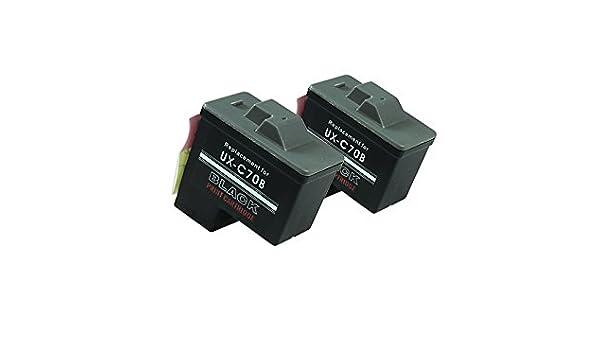 Reciclado para Lexmark Z 510 tintas conjunto negro - No.16 / No.17 ...