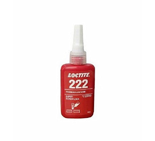 Henkel Loctite 222 50ml Threadlocker Super Screw Lock Glue ()