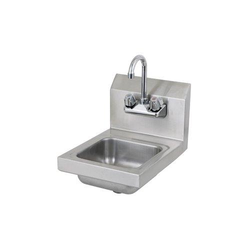 Johnson Rose 81400 Space Saver Hand Sink, Fabricated Bowl 16
