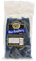 - Old Fashioned Blue Raspberry Twists Licorice Sticks