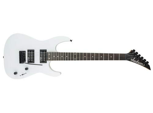 Jackson JS Series Dinky JS11 - White with Amaranth Fingerboard by Jackson