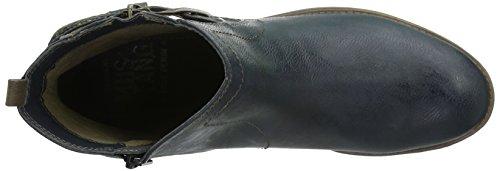Mustang, Damen 1157-518-820 Kurzschaft Stiefel Blau (820 navy)