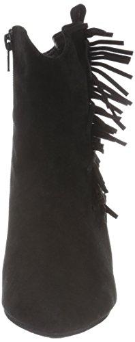 Sofie Wedge Negro Por Casa De Mujer Zapatillas W Estar Schnoor Fringe Para Fr5qwFP
