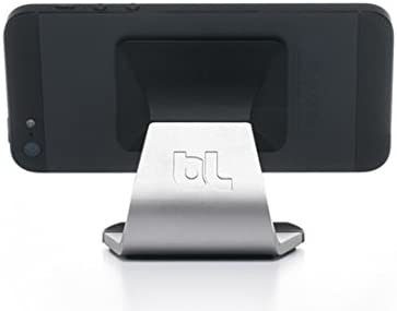 BlueLounge MO-AL-BL Milo Aluminium portabler Stand f/ür Smartphone Schwarz