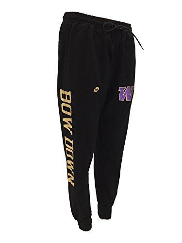 ar Washington Huskies Bow Down Metallic Gold Jogger Pants (XX-Large) ()