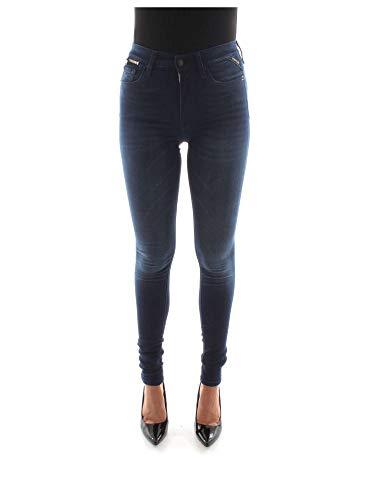Replay Jeans Blu 137323 Wa657 Denim Donna wqq0g7Uvn