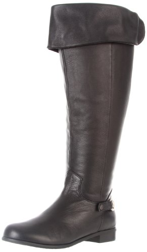 Ros Hommerson Women's Topic 41366 Boot,Black Leather,11 M US