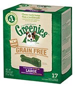 (Greenies Canine Grain Free Dental Treats Large 27oz Case of 12)