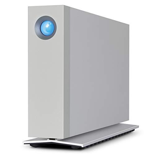 LaCie d2 Thunderbolt 3 10TB External Hard Drive Desktop HDD - Thunderbolt 3 USB-C USB 3.0, 7200 RPM Enterprise Class Drives, for Mac and PC Desktop, 1 Month Adobe CC (STFY10000400) (Top Ten External Hard Drives For Mac)