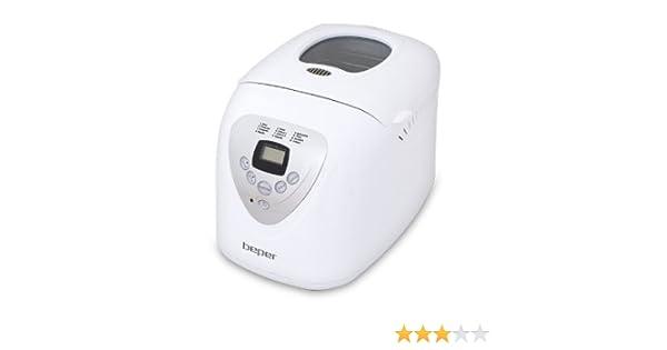 Beper 90.493A 493A-Maquina panificadora, ABS, Blanco: Amazon.es: Hogar