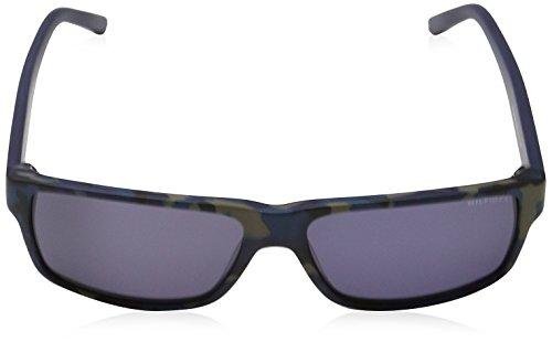 N S Tommy Pattern Sonnenbrille Blu Bleu Blu 1042 TH Hilfiger qwIBgw