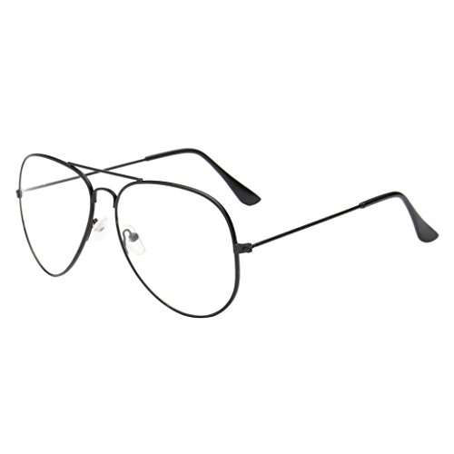 Dressffe 2018 Fashion Men Women Clear Lens Glasses Metal Spectacle Frame Myopia Eyeglasses Lunette Femme Glasses - Designer Spectacles Mens