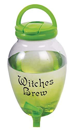 Witches Brew Drink Dispenser Halloween Drink Pitcher