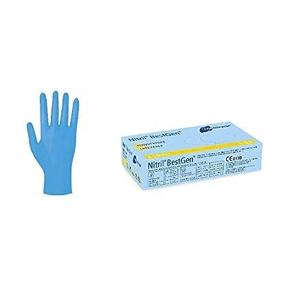 Meditrade BestGen 1286 Nitrile Gloves Pack of 100 Size S